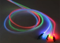 MICRO接口手机发光线